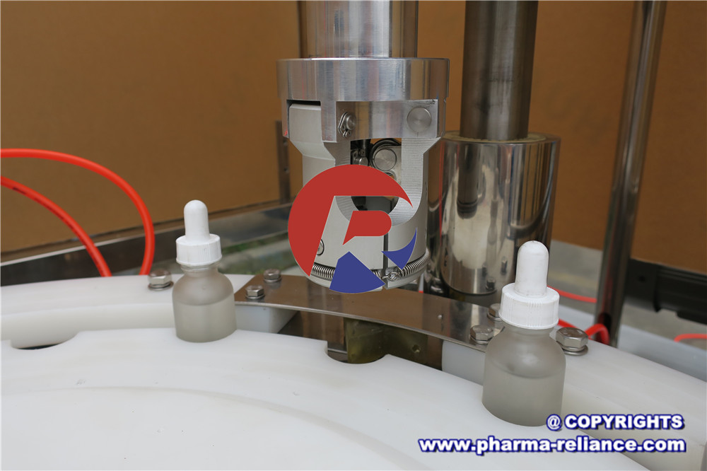 Dropper Bottle Filling Machine